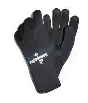 Перчатки 5мм HAMMERFISH 5-ти палые мокрые