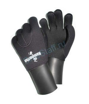 Перчатки 5мм HAMMERFISH 5-ти палые полусухие