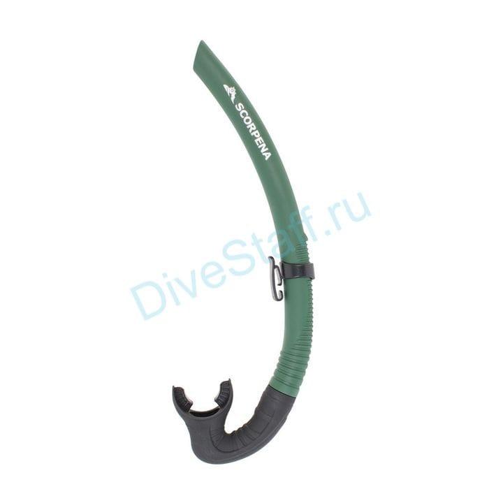 Трубка Scorpena M, зелёная