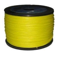 Линь DYNEEMA желтый 1,5 мм метр погонный