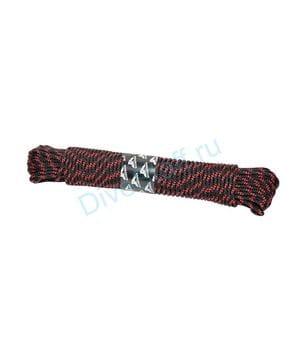 Буйреп плавающий Scorpena высокопрочный 5 мм х 35м, чёрно-красный
