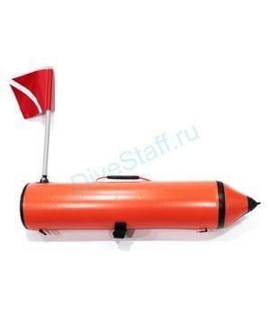 Буй DIVE (95 см, торпеда, с флагом)