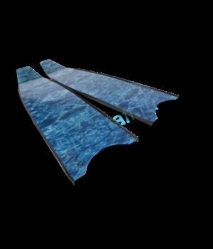 Лопасти Leaderfins BLUE CAMO STEREOBLADES SOFT