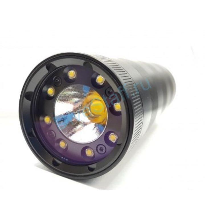 Подводный фонарь Ferei W180 WW; теплый свет, без батарей