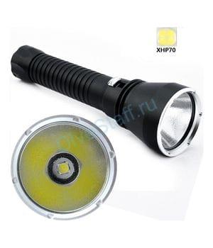 Фонарь для подводной охоты DIVING Flashlight D170 Cree XHP70,2 3000K без аккумуляторов