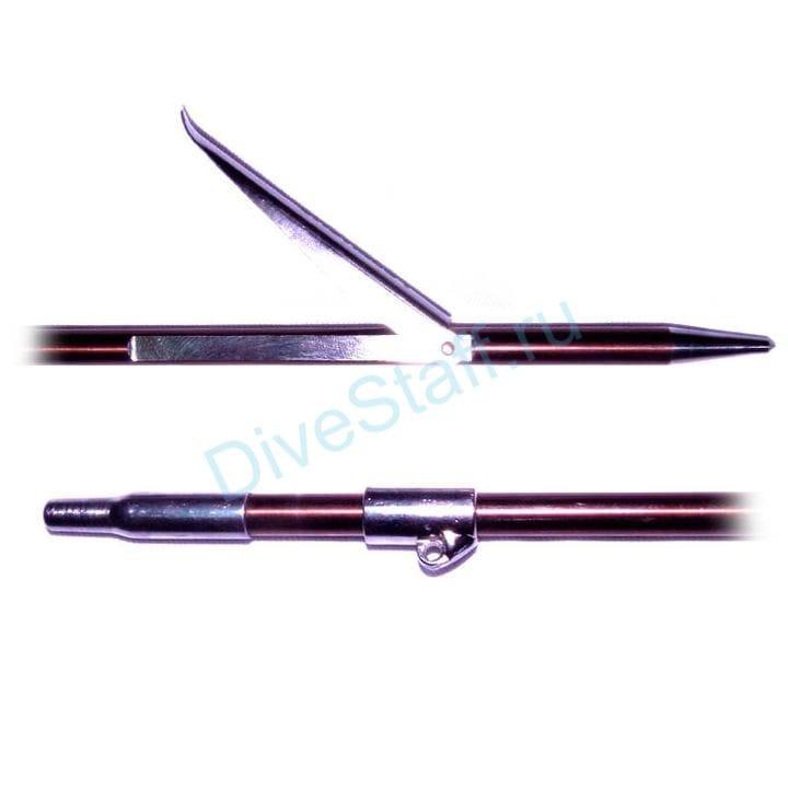 Гарпун таитянского типа, 7 мм, каленый + скользящая втулка титан, 500 мм