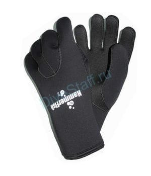 Перчатки 3мм HAMMERFISH 5-ти палые