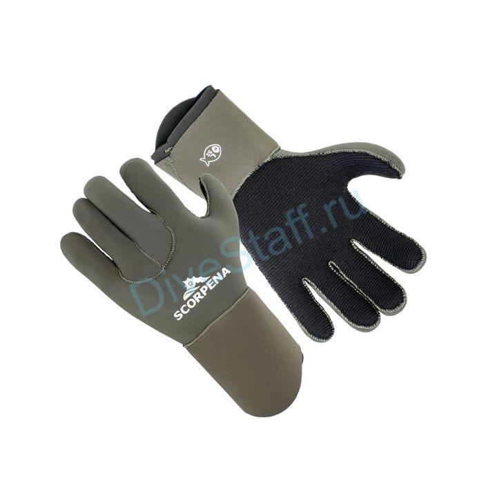 Перчатки Scorpena E - 5 мм, зеленый