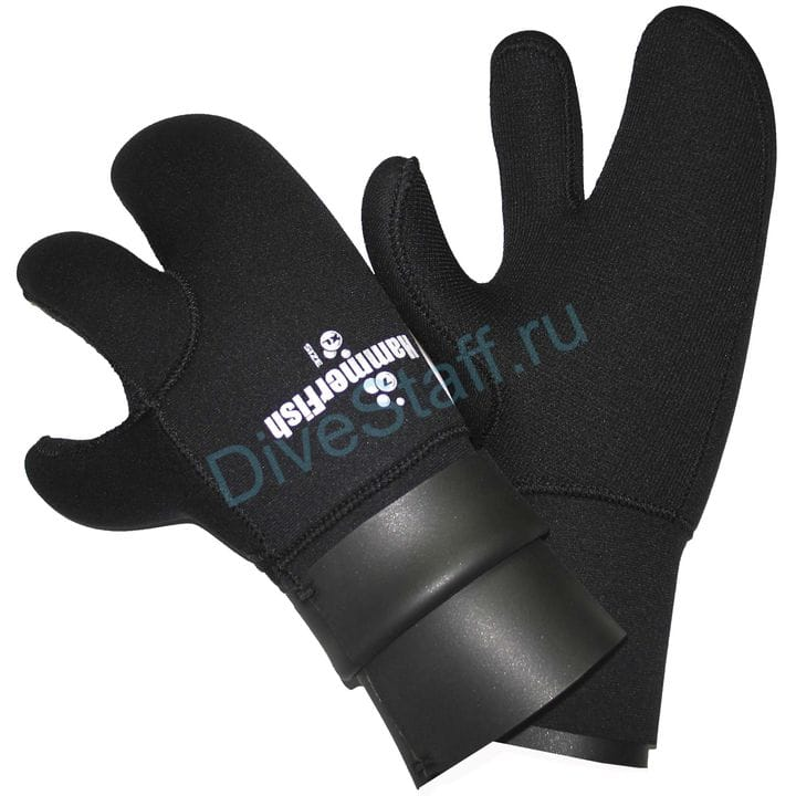 Перчатки 7мм HAMMERFISH 3-х палые сухие