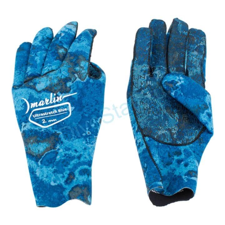 Перчатки Marlin ULTRASTRETCH 2 mm, blue