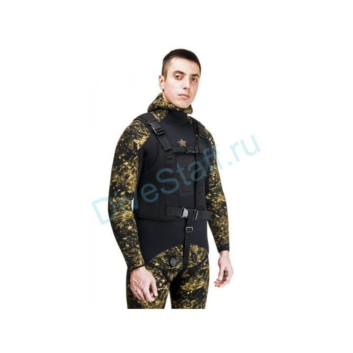 """Жилет разгрузочный """"БРОНИК"""" черный SARGAN"""