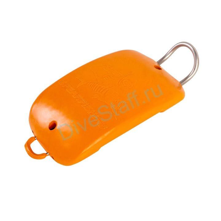 Груз/якорь полумягкий 1.1 kg, быстросъёмный с замком, оранж.