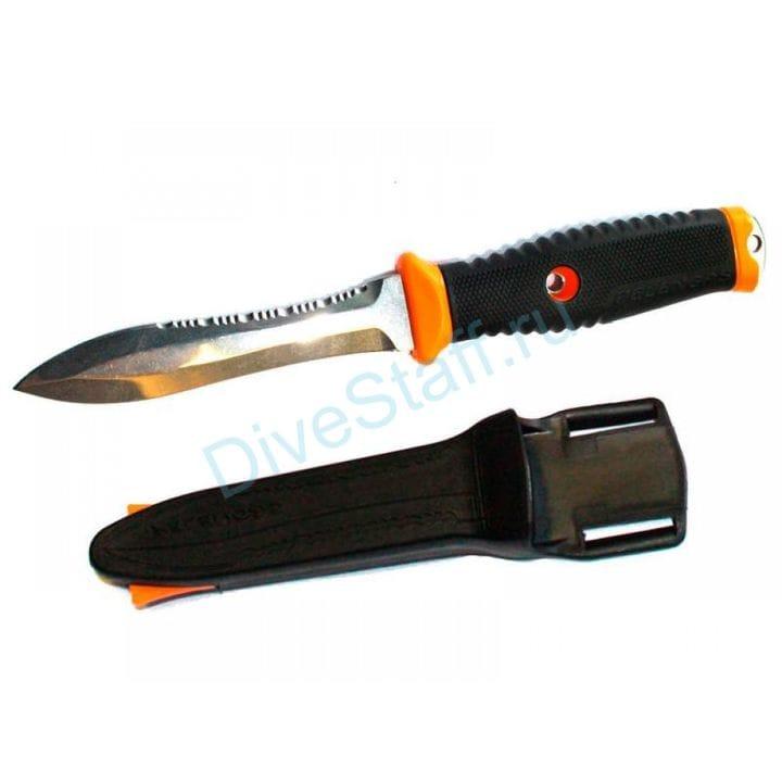 Нож с магнитным креплением Pelengas Volga серрейтор-плейн ПЕЛЕНГАС ВОЛГА