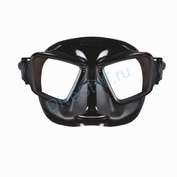 Маска OMER Zero3 (черный силикон)