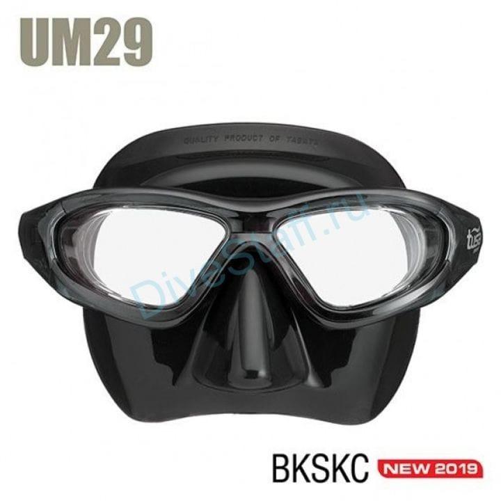 Маска TUSA Sport UM-29 черный силикон