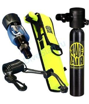 Резервный д/а Spare Air 0,44 л, чёрный в комплекте