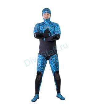 Гидрокостюм Scorpena C3 - 3 мм BLUE Camo