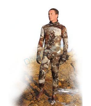 Гидрокостюм 3-D CAMU 7 mm комплект, длинные штаны