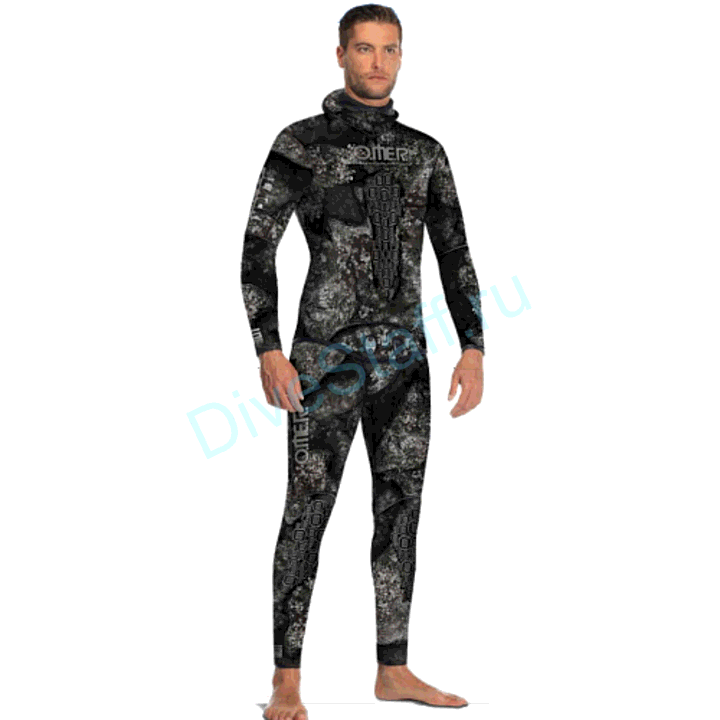 Гидрокостюм Black Stone куртка+короткие штаны, 5mm